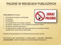 18. Zakaz palenia w miejscach publicznych